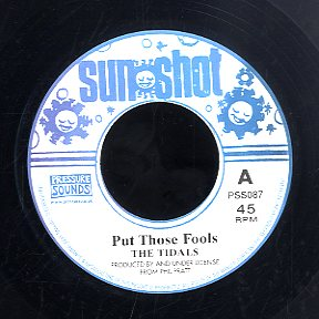 THE TIDALS [Put Those Fools / What A Great Day]