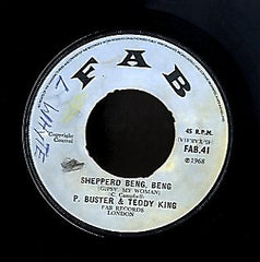 PRINCE BUSTER & TEDDY KING / THE TENNERS [Shepperd Beng Beng / Ride You Donkey]
