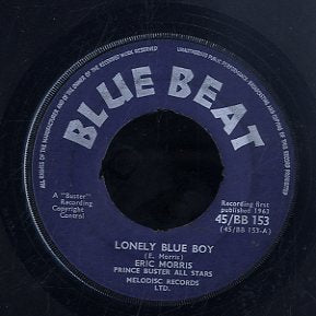 ERIC MORRIS [Lonely Blue Boy /Oh We]