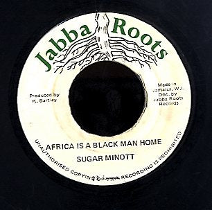 SUGAR MINOTT [Africa Is A Black Man Home]