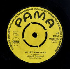 CORNEL CAMPBELL / THE CLARENDONIANS  [What Happens / A Good Hearted Woman ]