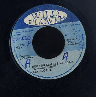 KEN BOOTHE [Now You Can See Me Again ]