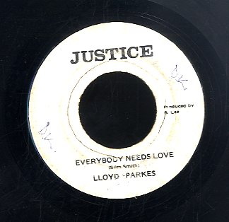 LLOYD PARKS [Everybody Needs Love]