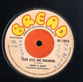 DANNY & JACKIE  / DANNY RAY [Your Eyes Are Dreaming  / Don't Stop ]