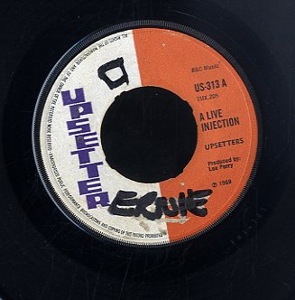 THE UPSETTERS / BLEECHERS [Live Injection / Everything For Fun]