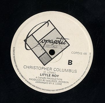 LITTLE ROY [Without My Love / Christopher Columbus ]