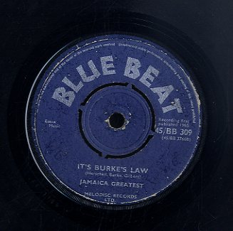 PRINCE BUSTER / JAMAICA GREATEST( D MORGAN. PATSY. BUSTER) [It's Burkes Law / Here Come's The Bride]