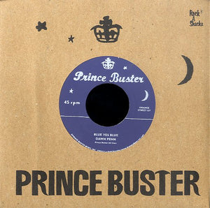 DAWN PENN / PRINCE BUSTER (SILKSCREEN LABEL) [Blue Yes Blue / Love Each Other]