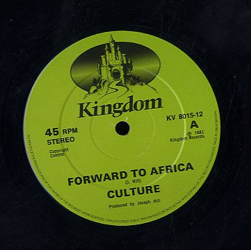 CULTURE [Forward To Africa]