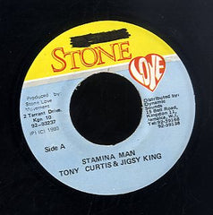 TONY CURTIS &  JIGSY KING [Stamina Man]