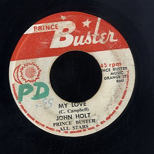 JOHN HOLT  [My Love]
