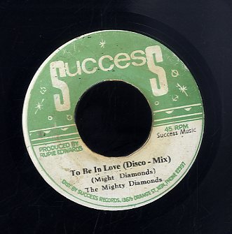 THE MIGHTY DIAMNODS [To Be In Love (Disco Mix)]