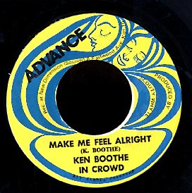 KEN BOOTHE & IN CROWD / IN CROWD [Make Me Feel Alright  / Down On The Corner]