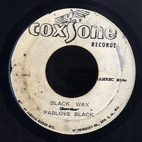 PABLO BLACK / PRINCE JAZZBO  [Black Wax / Check Mr Lester ]
