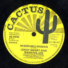 LEROY SMART / RANKING JOE [Miserable Woman / Think About To Tomorrow]