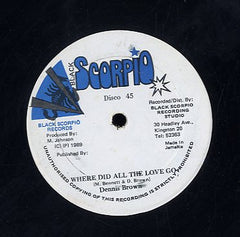 DENNIS BROWN [Where Did All The Love Go]