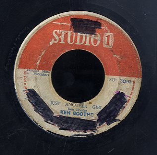 KEN BOOTHE / J NEWTON [Just Another Girl / Fooling You]