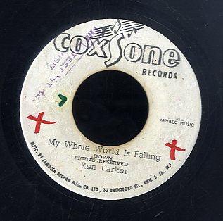 KEN PARKER [My Whole World Is Falling Down / Chocking Kind]