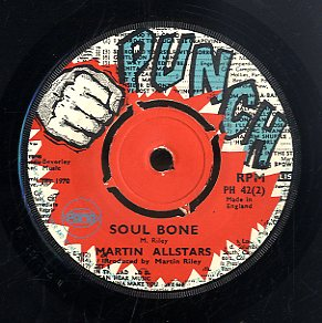 DAVE BAKER / MARTIN ALL STARS [Reggae Meeting / Soul Bone]