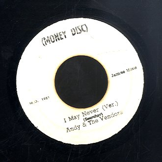 HORACE ANDY [I May Never See My Baby]
