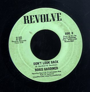 BORIS GARDINER  [Oh If I Loose Your Love / Don't Look Back]