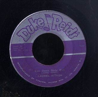DUKE REID AND HIS GRUP / LAUREL AITKEN [Pink Lane Shuffle / Low Down Dirty Girl ]