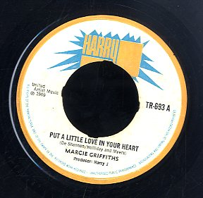MARCIA GRIFFITHS / JAY BOYS [Put A Little Love In Your Heart/ Jay Fever]