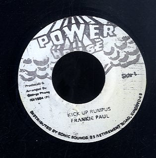 FRANKIE PAUL [Kick Up Rumpus]
