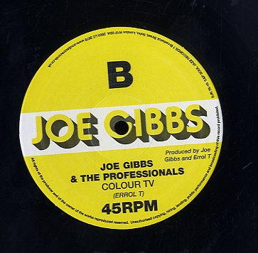 JOE TEX & U BLACK / JOE GIBBS & THE PROFESSIONALS [Standardization / Colour Tv]