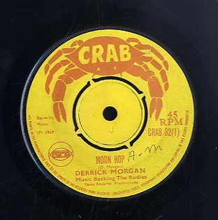 DERRICK MORGAN / REGGAEITES [Moon Hop / Harris Wheel]