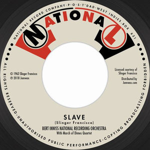 MIGHTY SPARROW & BERT INNISS NATIONAL RECORDING ORCHESTRA [Slave / The Slave]
