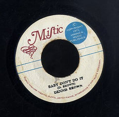 DENNIS BROWN [Baby Don't Do It]