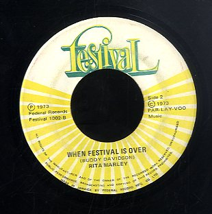 RITA MARLEY [Rainbow Island / When Festival Is Over]