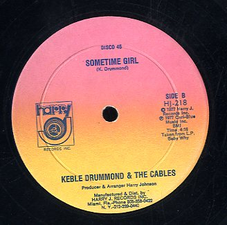 KEEBLE DRUMMOND [Sometime Girl / No More Heartaches]