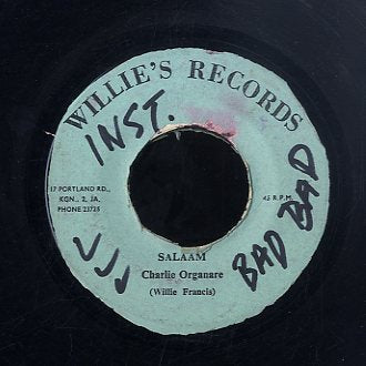 WILLIE FRANCIS / CHARLEY ORGANAIRE [Just One Time / Salaam]