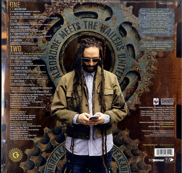 ALBOROSIE MEETS THE WAILERS UNITED [Unbreakable]