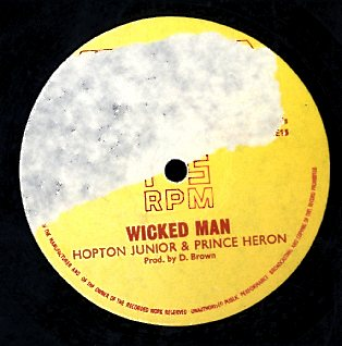 HOPETON JUNIOR  [Whip Down The Wicked Man / Sit Down & Wonder]