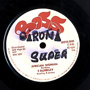 ERROL DUNKLEY [African Woman / All That I Can Use]