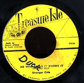 ROLAND ALPHONSO AND FRANK ANDERSON / STRANGER COLE [Musical Storeroom / He Who Feels It Knows It]