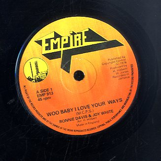 RONIE DAVIS & JOE WHITE [Woo Baby I Love You The Way / Funcy Make Up]