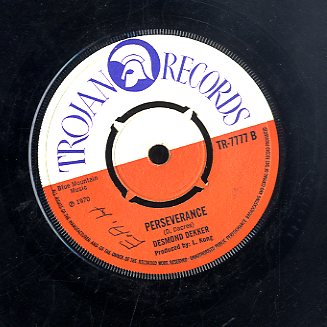 DESMOND DEKKER [You Can Get It If You Really Want / Perserance]