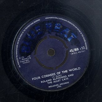 ROLAND ALPHONSO AND THE ALLEY CATS / THE SINNERS [Four Corners Of The World / Romantic Shuffle]