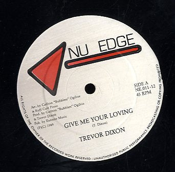TREVOR DIXON / RUFF CUTT POSSE [Give Me Your Loving / Give Me Some Dubbing]