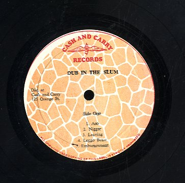 GREGORY ISAACS [Slum In Dub]