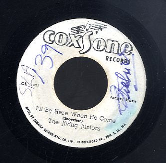 JIVING JUNIORS / SOUL VENDORS [I'll Be Here When He Comes / Real Dub]