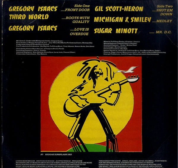 V.A. (GREGORY ISAACS, MICHIGAN & SMILEY, SUGAR MINOTT...) [Live At Reggae Sunsplash '83]