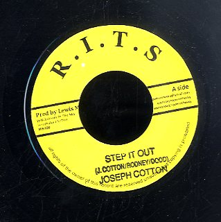 JOSEPH COTTON / LIDJ JAHNOY  [Step It Out / Peace'n Love]