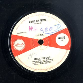 JACKIE EDWARDS [Come On Home / Sometimes]
