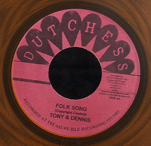 TONY & DENNIS / TOMMY MCCOOK [Folk Song / Starry Night]
