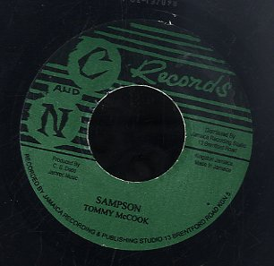 TOMMY MCCOOK / ROY PANTON & PAULETTE [Sampson / My Arms Are Waiting]